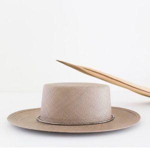 Janessa Leone Magnolia Boater Hat